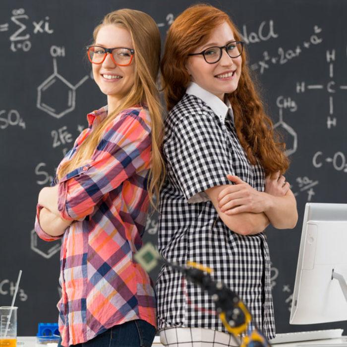 geek-friends-standing-in-a-technical-university-PQN7G7P